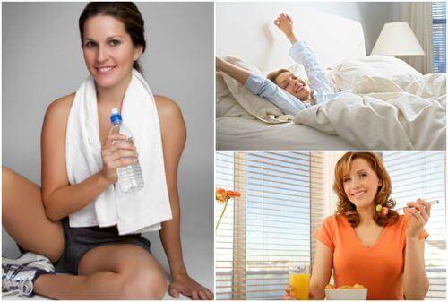 Elke dag meer energie met slechts vijf veranderingen in je routine!