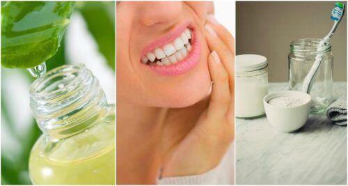 6 remedies om tandvleesontstekingen te behandelen