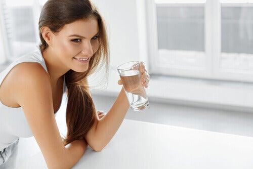 Drink voldoende water