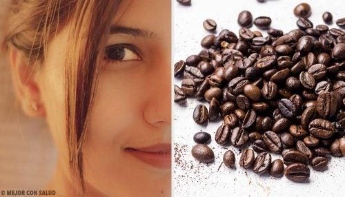 5 gezichtsmaskers met koffie voor een stevigere huid