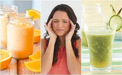 Migraine natuurlijk bestrijden met 5 heerlijke smoothies