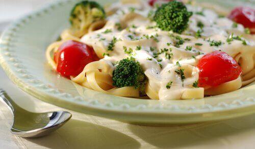 Fetuccini met broccoli