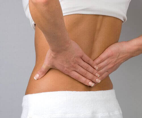 Rugpijn door een hernia