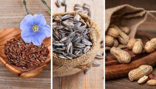 Vijf eetbare zaden en hun wonderbaarlijke eigenschappen