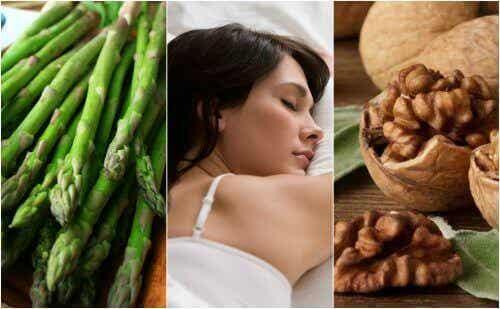Een betere nachtrust met voedingsmiddelen die rijk zijn aan melanine