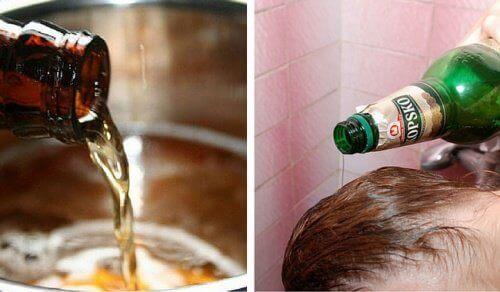 De zes beste manieren om bier te gebruiken voor je huid en haar