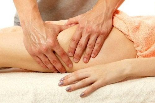 Massage voor slanke dijen