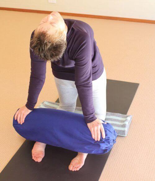 Rekoefening voor de armen om stress te verlichten