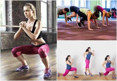 5 oefeningen om in vorm te blijven, waar je ook bent