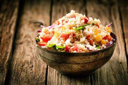 Schaaltje met quinoa