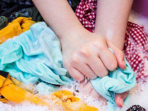 Kleding wassen met natuurlijke middelen