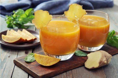 Middel met aloë vera en mango