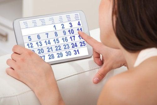Onregelmatige menstruatiecycli door vroegtijdige menopauze