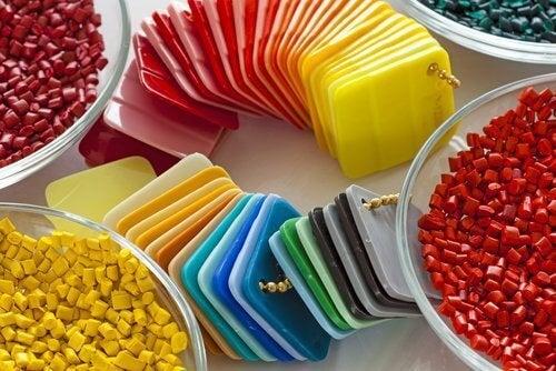 Plastic dekseltjes