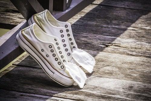 Schoenen zijn een van de dingen die je nooit moet delen