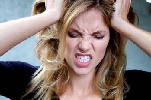 Stress is een van de symptomen van darmparasieten