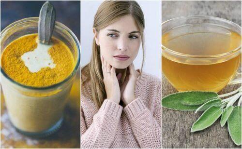Keelpijn aanpakken met zes natuurlijke middelen