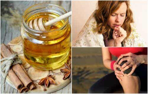 8 medicinale voordelen van kaneel en honing