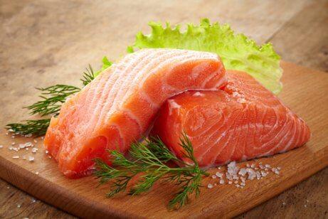 Het gehalte serotonine verhogen door vis te eten