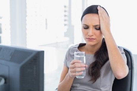 Voldoende water drinken is belangrijk voor de hersenen