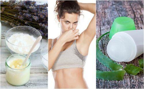 5 natuurlijke deodorants om stinkende oksels tegen te gaan