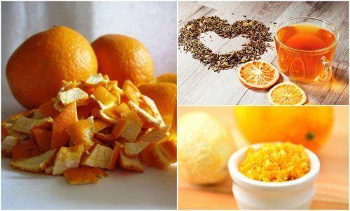 Vijf alternatieve manieren om sinaasappelschil te gebruiken