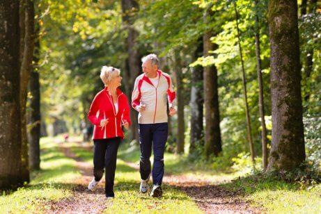 Na je vijftigste in vorm blijven door samen te hardlopen