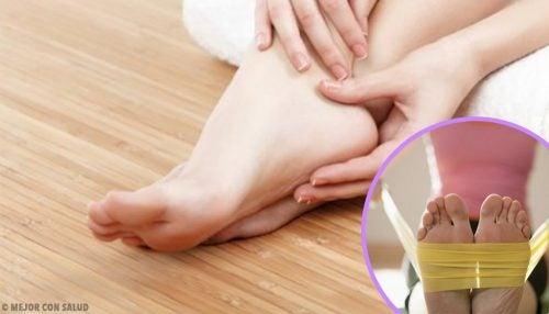 Sterkere voeten voeten door rekoefeningen