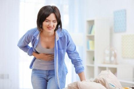 Pijn door leververgiftiging