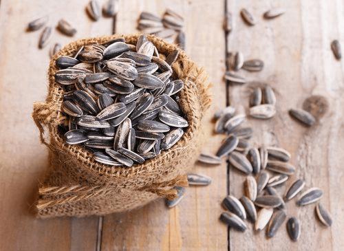 Bronnen van gezonde vetten zaden