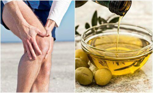 Pijn in de gewrichten verlichten met citroenschil en olijfolie