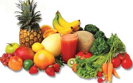 Je ontdoen van vochtretentie met diuretische voedingsmiddelen