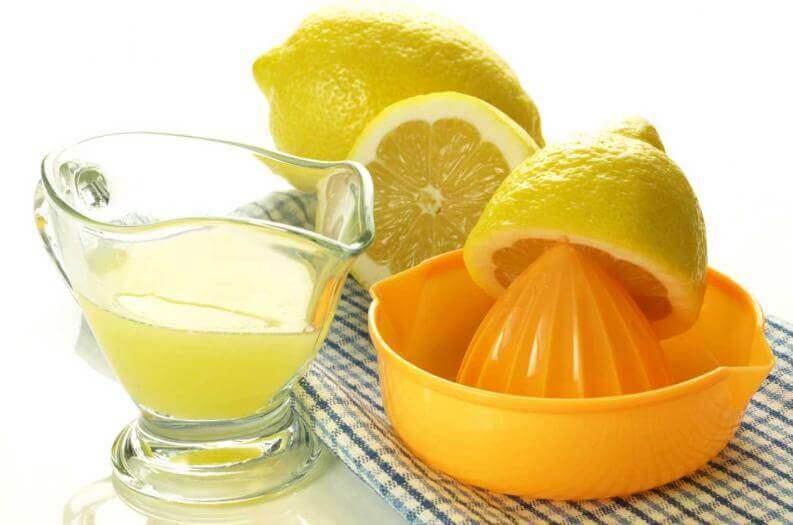 Kussens schoonhouden met citroen