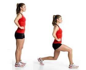 Lunges voor het sterker maken van je rug