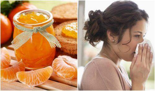 Gezonde mandarijnenjam om je immuunsysteem te versterken