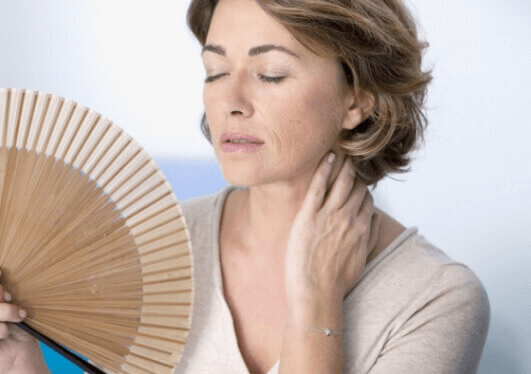 Slappe borsten door de menopauze