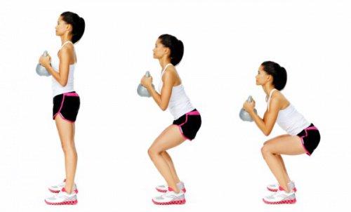 Hoe moet je squats op de goede manier doen: 4 aanbevelingen