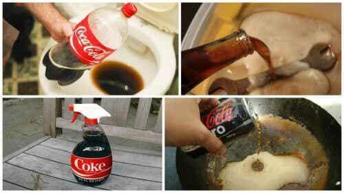 Maak kennis met deze 8 huishoudelijke toepassingen van Coca-Cola