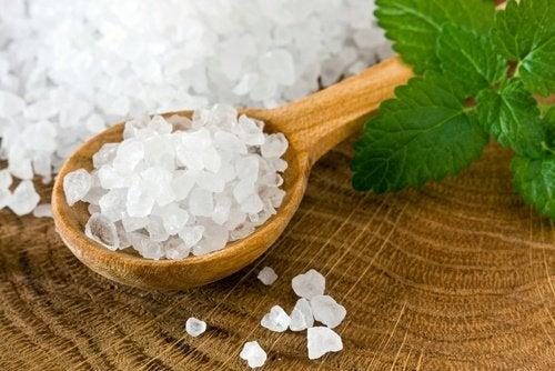 Zeezout als behandeling voor een koortslip