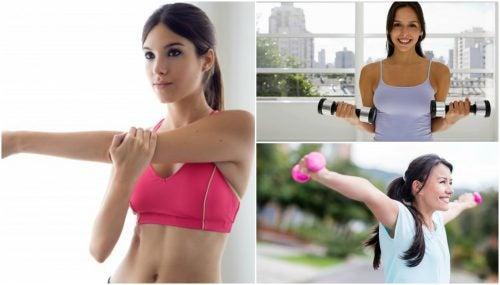Strakke en stevige borsten met deze oefeningen