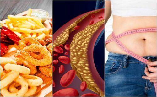 6 dingen die hoog cholesterol veroorzaken