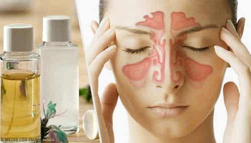 Verstopte sinussen: drie effectieve behandelingen