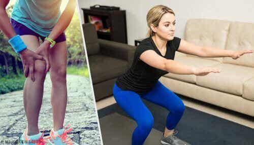 Vijf tips en oefeningen voor sterke knieën