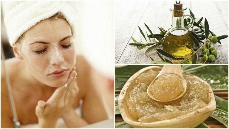 Verwen je huid met vijf remedies op basis van olijfolie