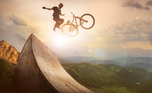 Adrenaline door extreme sporten