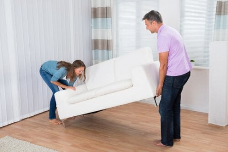 Huis meer op orde met voldoende meubelen