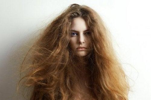 Droog haar behandelen met 5 natuurlijke ingrediënten