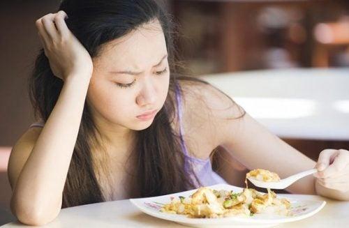 Galblaasproblemen en eetlust