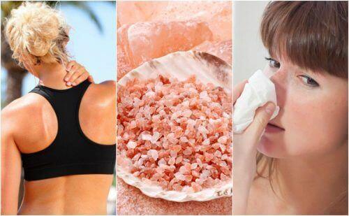 10 Voordelen van roze Himalayazout