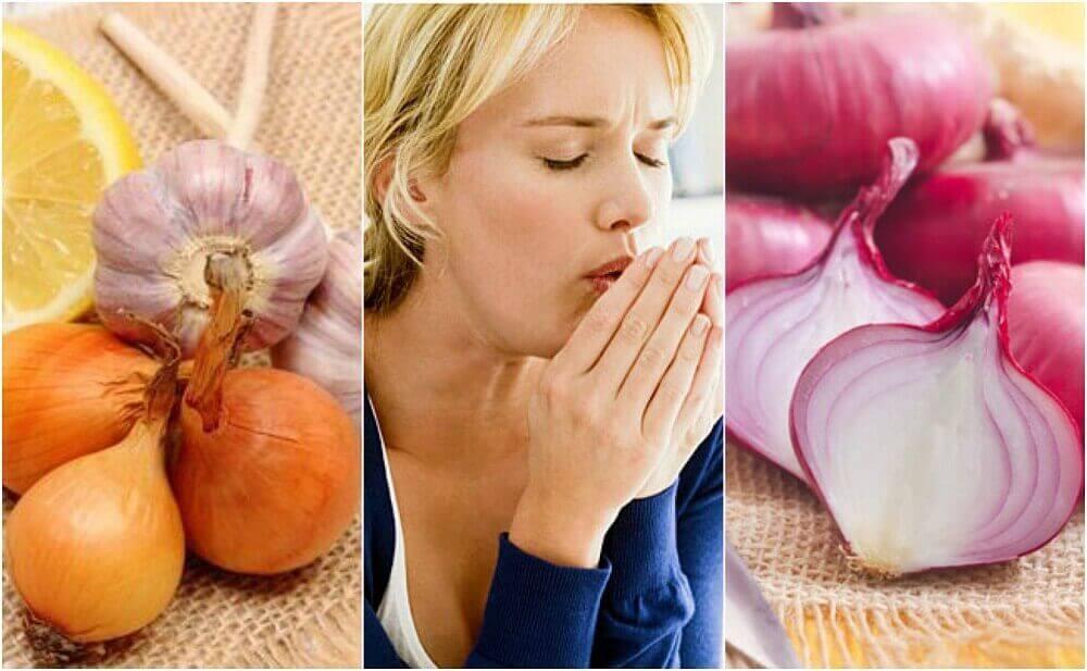 Remedies met ui om je hoest op een natuurlijke wijze te bestrijden